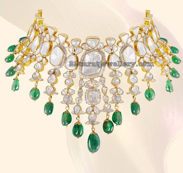 Exquisite Diamond Choker by Shree Jewellers