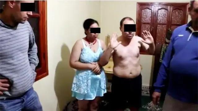 أكادير: زوج يضبط زوجته متلبسة بالخيانة بين أحضان رجلين
