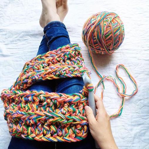 Rainbow Blanket Crochet/Knit A-Long - Yarn suggestions