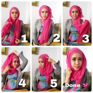 20+ Tutorial Hijab Pashmina Terbaru Simple dan Mudah