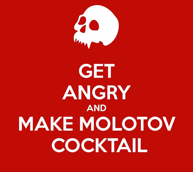 usos de las bombas molotov
