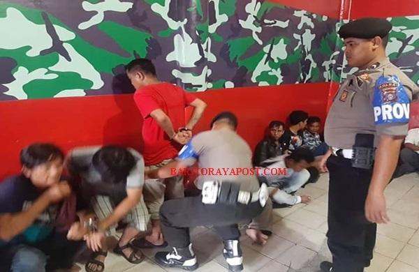 Uang Hasil Dagang Dibawa Judi, 22 Orang di Angkut Polisi