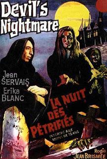 affiche de la plus longue nuit du diable avec jean servais et erika blanc