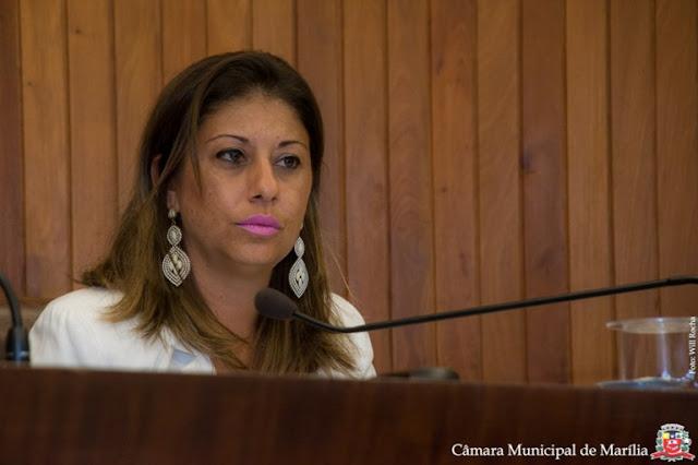 Vereadora Daniela D'Ávila de Marília pode ter Mandato cassado por quebra de decoro.