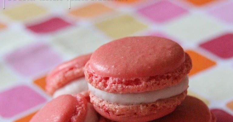 Philo Aux Fourneaux Macarons Ganache Montee A La Framboise