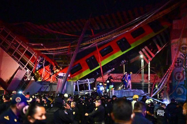 hoyennoticia.com, Méjico: 23 muertes hasta ahora por caída de línea del Metro