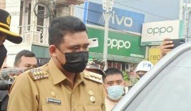Bobby Nasution Sekat 4 Titik Perbatasan Kota Medan