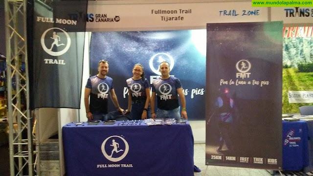 Full Moon Trail presente en la feria del corredor de la Transgrancanaria