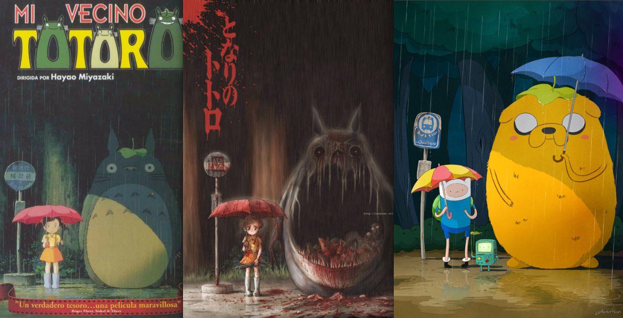 Wallpaper Gif Anime La Atalaya Nocturna Homenajes Hora De Zombies