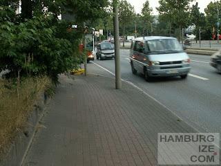 Radweg Amsinckstraße
