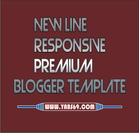 New Line Responsive Premium Blogger Template