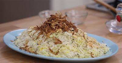 طريقة عمل أرز بسمتي بالبهارات
