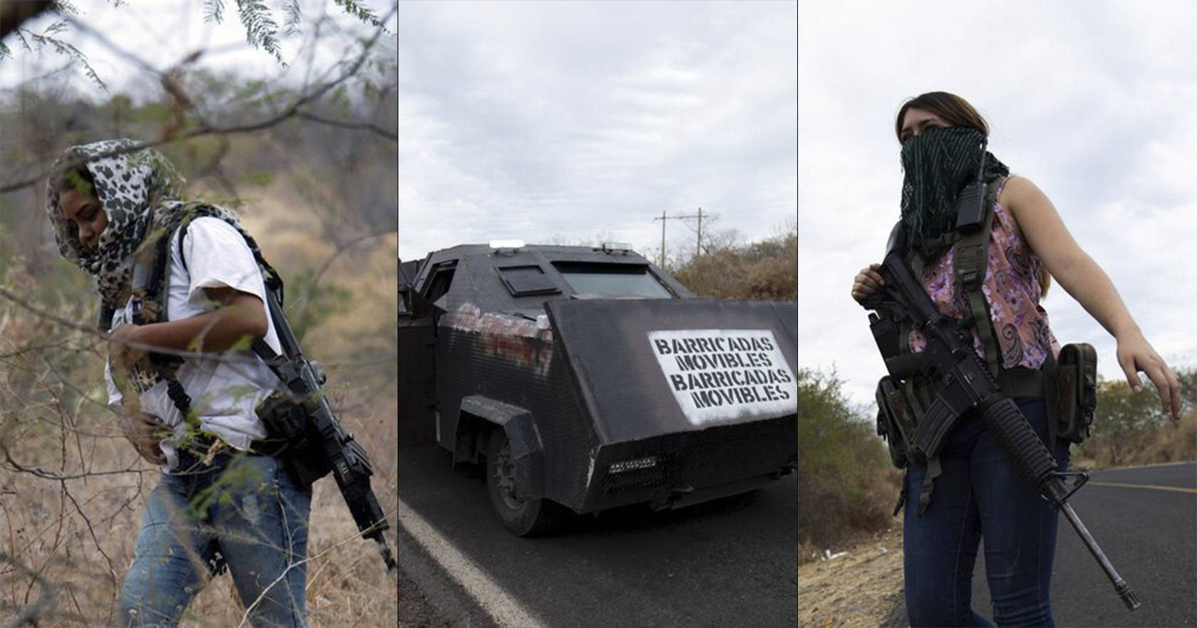 """Ni """"Autodefensas"""" ni """"Embarazadas"""", las Mujeres que decían ser Autodefensas en Michoacán son integrantes del Cartel de Los Viagras"""