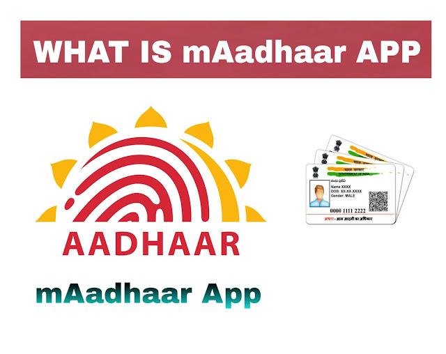 mAadhar app Aadhar Virtual ID