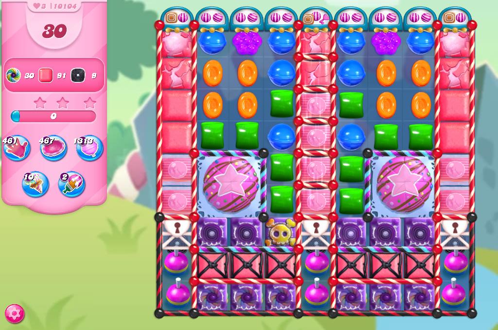 Candy Crush Saga level 10104