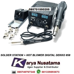 Jual Dekko 858 2in1 Solder Blower Temperature Stability di Makasar