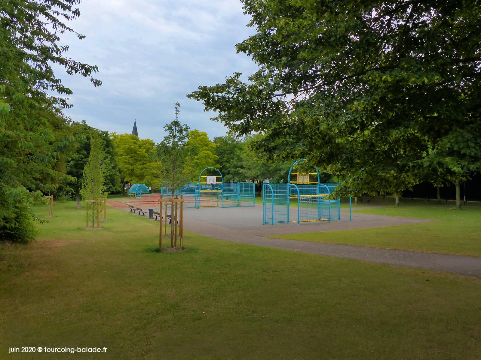 Parc Citadin des Abeilles, Tourcoing 2020