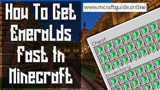 How To Get Emerald In Minecraft