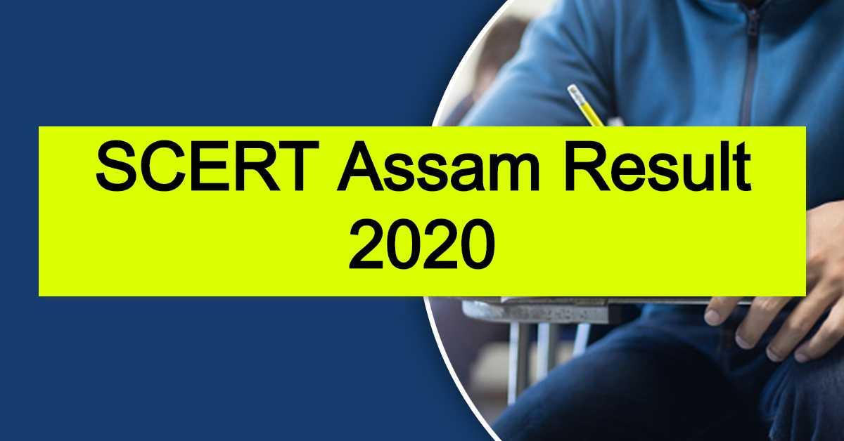 SCERT Assam Result 2020 : D.El.Ed Admission Pre-Entry Test (PET)