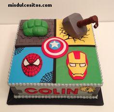 Tortas Avengers. Venta de tortas en Lima, Los Olivos, Independencia, El Agustino, Santa Anita