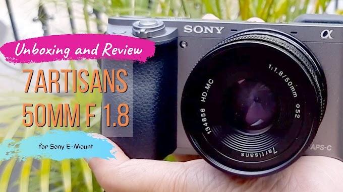 Review Lensa Prime 7artisans 50mm F 1.8 Untuk Kamera Sony E-Mount