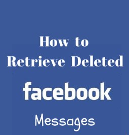 retrieve deleted facebook messages inbox