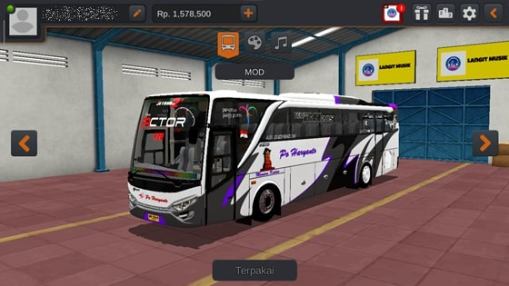 Livery JBHD2 New Setra MD Creation PO Haryanto Actor