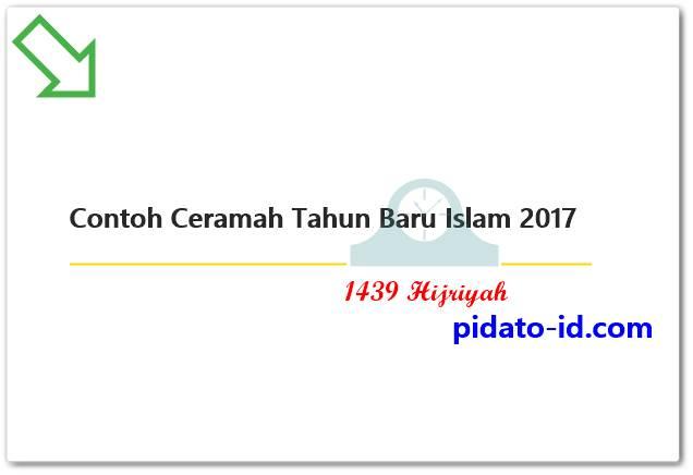 Contoh Ceramah Tahun Baru Islam 2017 Pidato Id