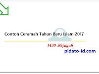 Contoh Ceramah Tahun Baru Islam 2017