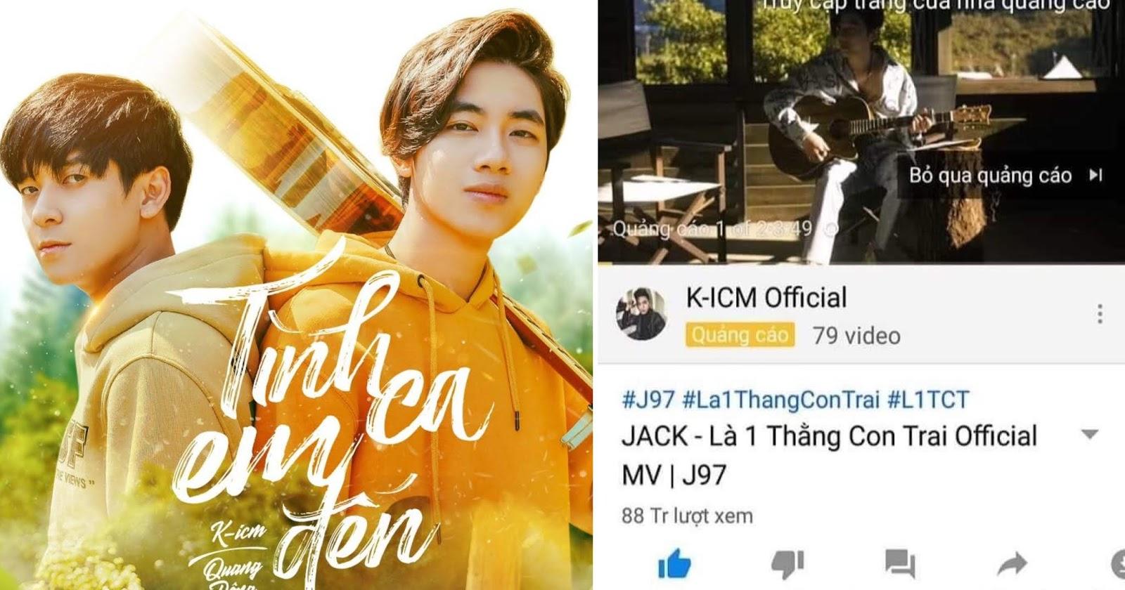 Mang tiếng là tặng fan nhưng K-ICM lại chạy quảng cáo sản phẩm mới trong MV của Jack?