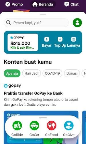 Cara Transfer Saldo Gopay Ke Rekening Bank Dengan Mudah tarunajati