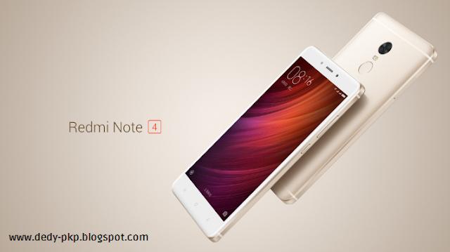 spesifikasi harga Xiaomi Redmi Note 4