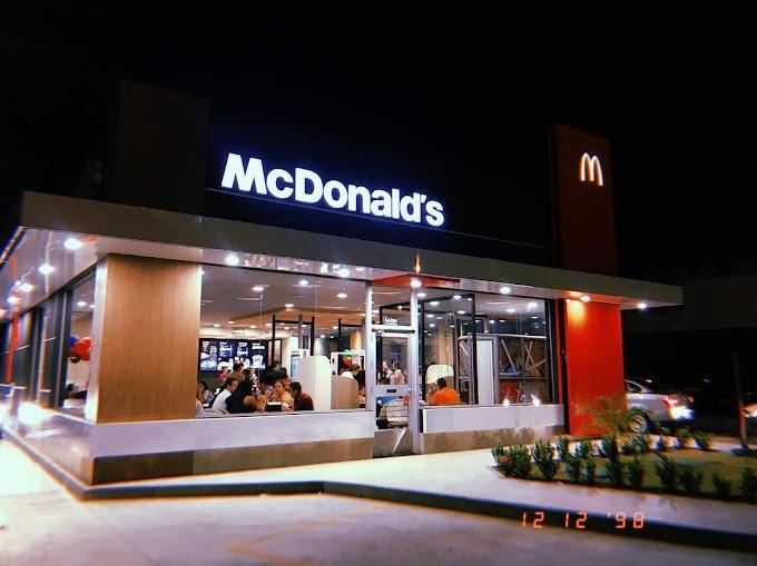 McDonald's anuncia a abertura de vagas na Paraíba