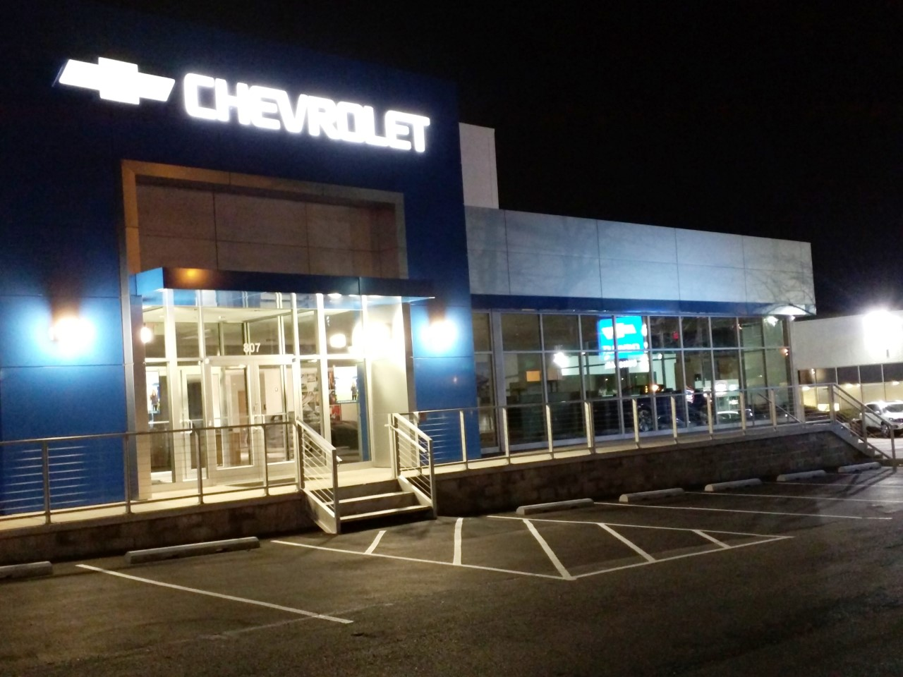 Rockville Nights Ourisman Chevrolet Moving Inventory Into New Rockville Dealership Photos