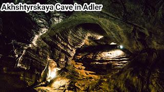 Akhshtyrskaya Cave in Adler