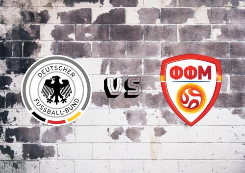 Alemania vs ARY de Macedonia  Resumen y Partido Completo