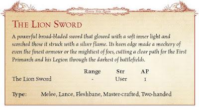 Espada del León