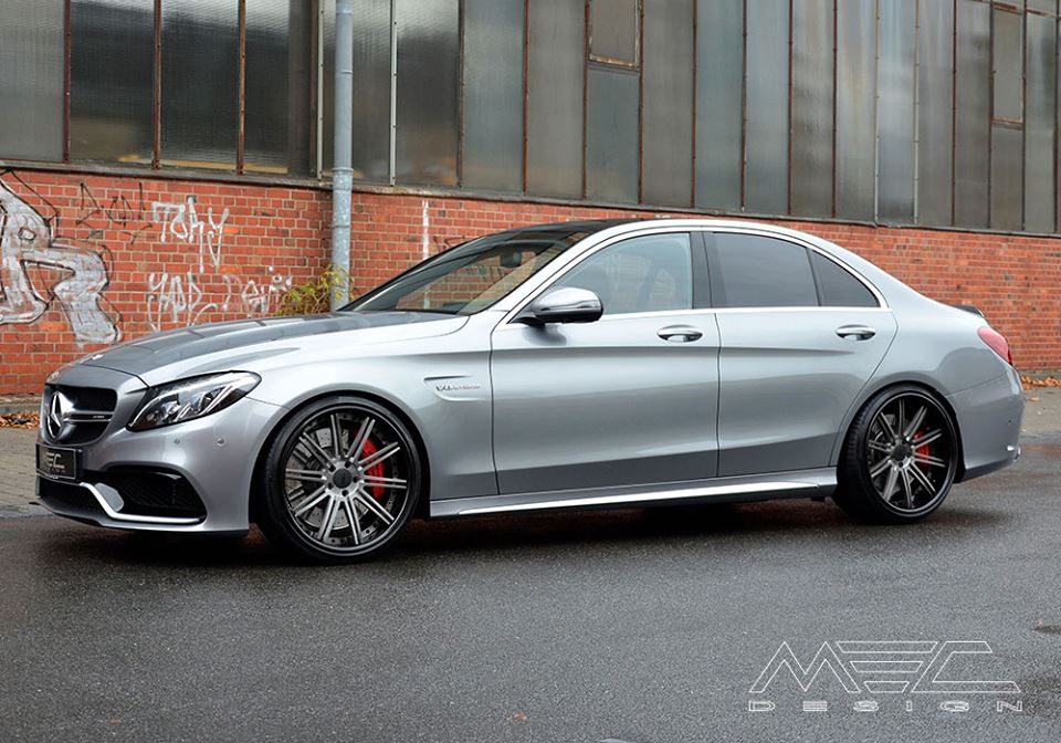mercedes amg c63 w205 mec benz tweaks sedan rate benzinsider