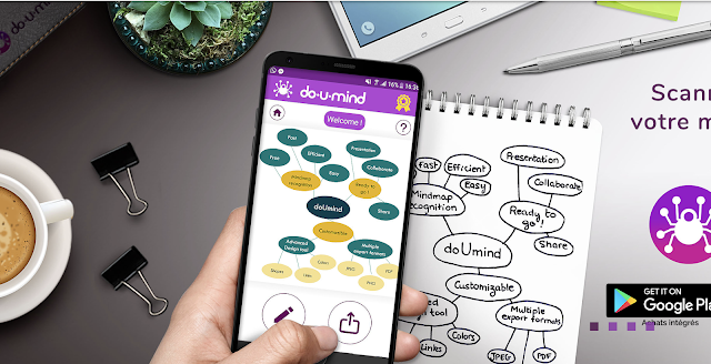 doUmind: an amazing Mind Map Scanner!