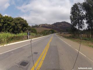 Belas paisagens na BR-116.