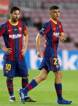 Life-changing for Spain midfielder Pedri