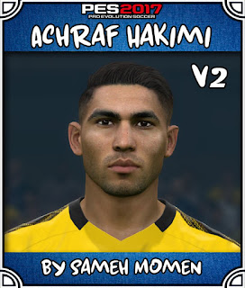 PES 2017 Faces Achraf Hakimi by Sameh Momen