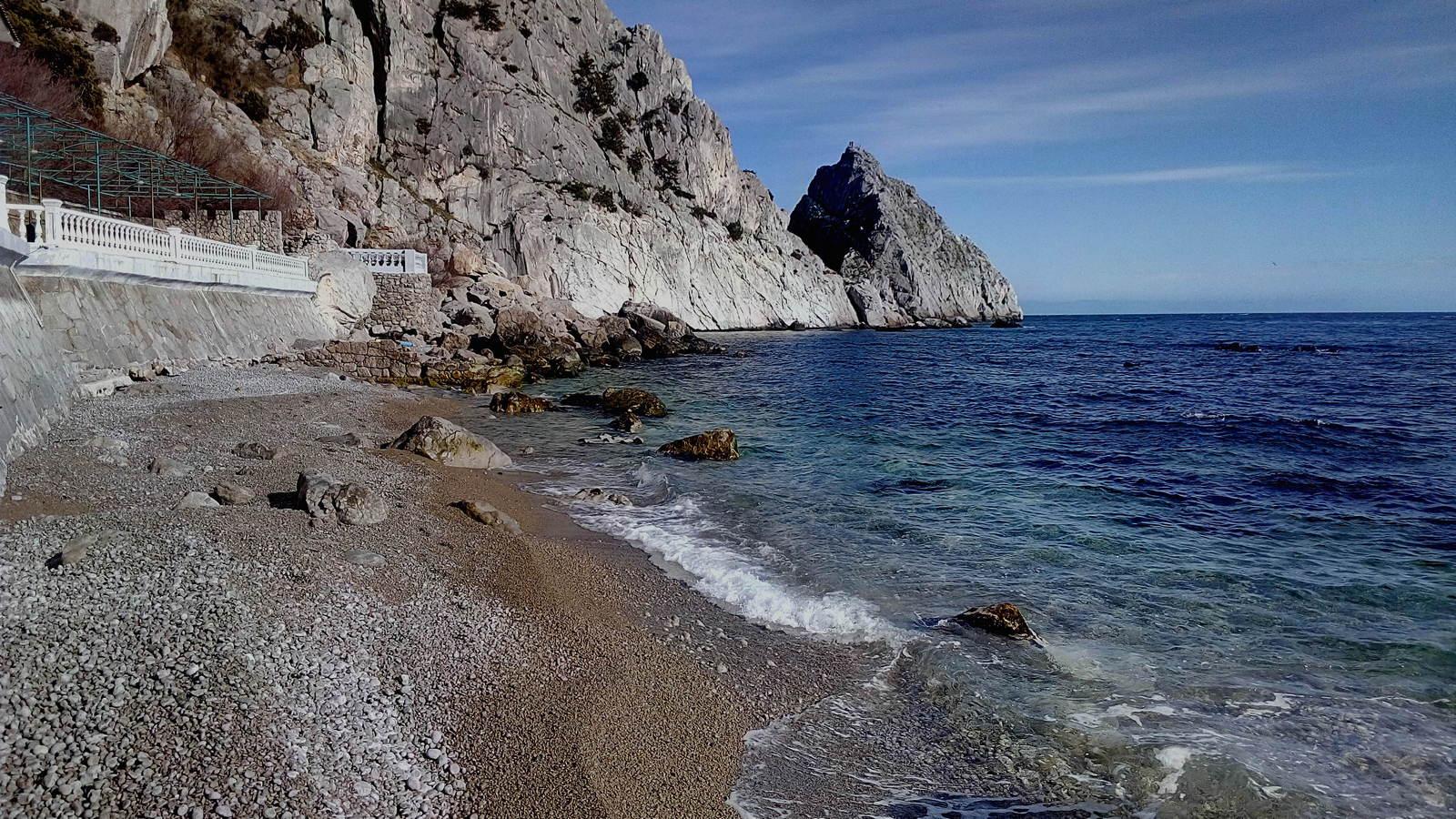 Пляж Симеиз
