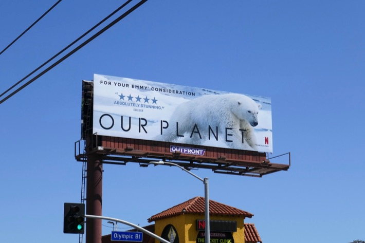 Our Planet 2019 Emmy FYC billboard