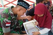 Selain Pamtas RI-Malaysia, Prajurit Yonif Raider 600/Modang Mengajar Mengaji