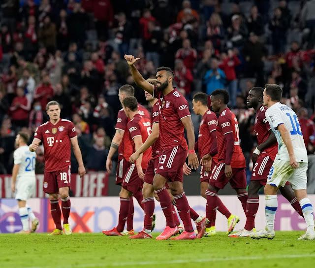 ملخص واهداف مباراة بايرن ميونخ ودينامو كييف (5-0) دوري ابطال اوروبا