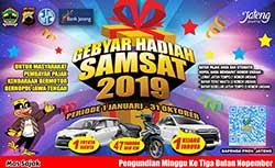 Daftar Pemenang Gebyar Samsat Jateng 2019