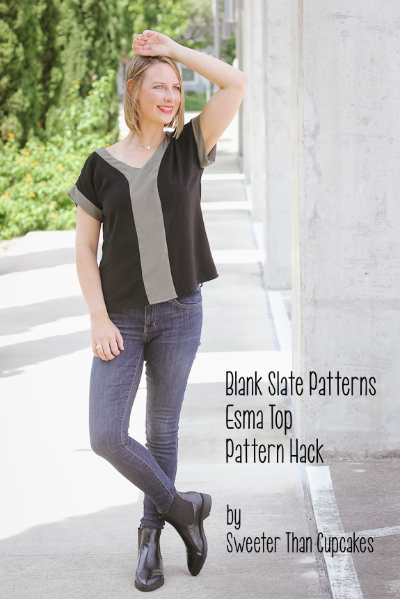 Esma Top Pattern Hack Sewing Tutorial