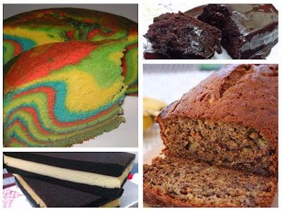 Koleksi Resepi Kek Popular dan Sedap