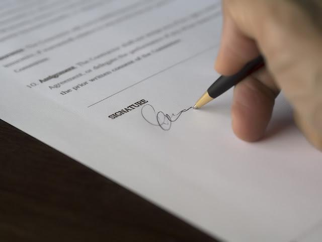 Surat Kontrak Perjanjian Kerja dan Contohnya